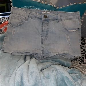 Forever 21 Frayed/Ripped shorts